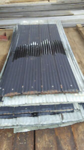 JUST REDUCED:  GOOD USED METAL ROOFING