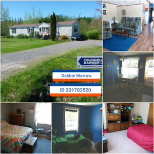 Centrally located 3 bedroom +-2 acre lot