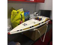 Kyosho Radio Controlled Power Boat pull start motor