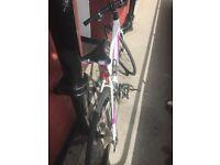 Liv road bike, 2016 Thrive 1 disc ladies bike with bespoke turreli handle bar and receipt