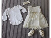baby girl clothes special occasion dress 3-6 months