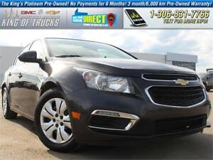 2015 Chevrolet Cruze LT One Owner | PST Paid | Low KM