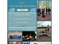 Join Omagh Royal Air Force Cadets -