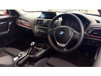 2014 BMW 1 Series 118d Sport 3dr with BMW Naviga Manual Diesel Hatchback