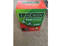 Evergreen Fast Grass Lawn Seed Carton 2.4kg - covers 80m2