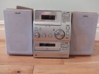 Sony hi fi stereo music system small size