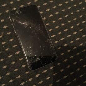 Apple iPhone 6s 16gb screen damage