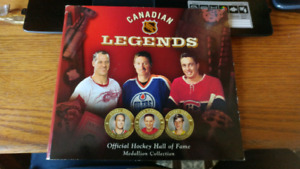 Hockey Hall of Fame Legends Medallion Collection 2004