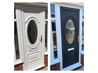 UPVC Door spraying