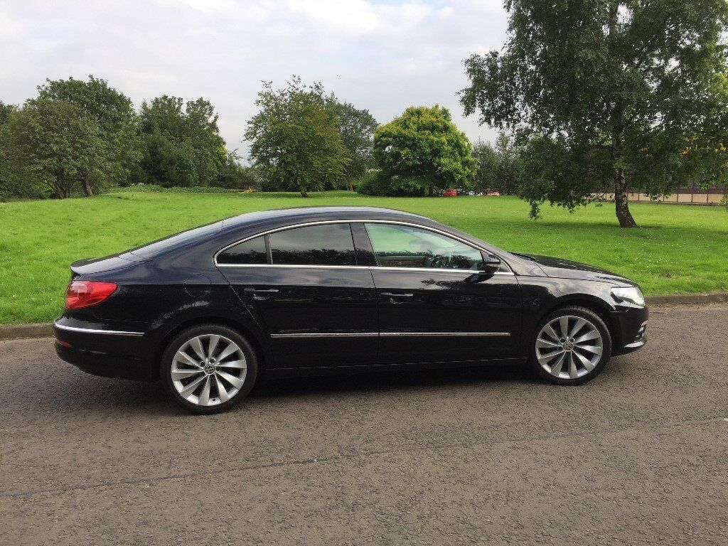 vw passat cc coupe gt spec 2010 plate dsg 170bhp low miles black reduced in. Black Bedroom Furniture Sets. Home Design Ideas