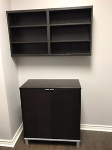 2 Piece Cabinet For Sale