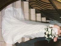 Unique individually designed wedding dress