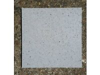 21x Grey Quartz Mirror Flecked floor tiles