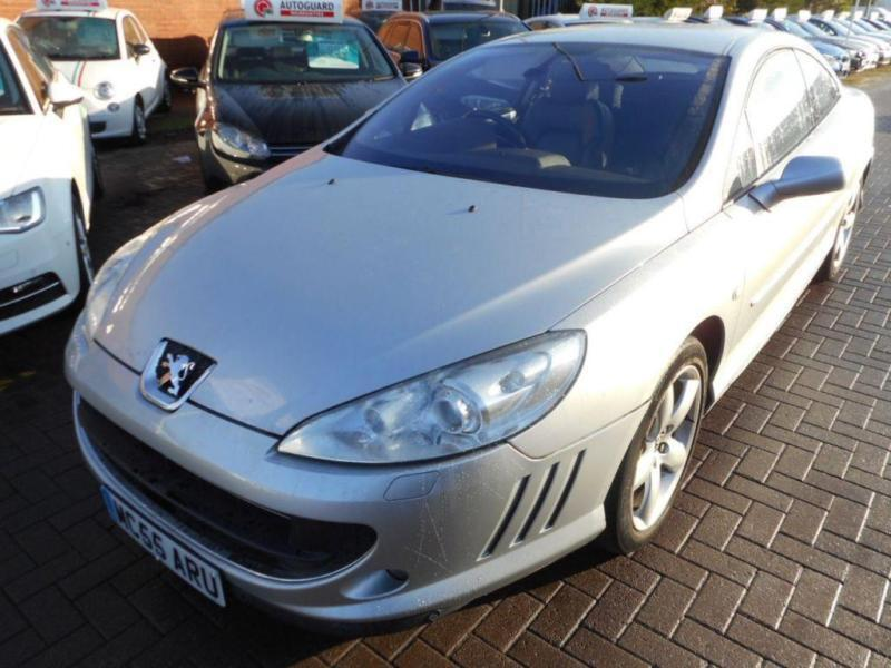 2006 55 PEUGEOT 407 2.7 COUPE GT HDI 2D 202 BHP DIESEL