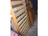 Toddler cot bed with mattress only £50