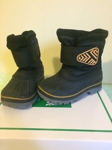 Size 7 toddler boys winter boots