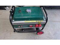 Parkside Generator PSE2800A1 Petrol Generator. 2.6kw