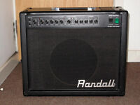 ALL VALVE 50 Watt Quality Guitar AMP - Randall RG50TC - EXCELLENT CONDITION - 2 Channels plus Reverb