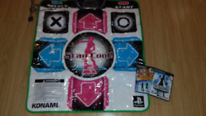PS2 mat and games