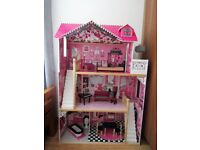 Barbie Doll's House -fully assembled and in excellent condition.