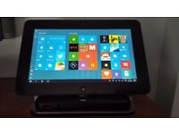 Dell Latitude 10 ST2 Tablet PC with Win 10 Pro and desktop docking stand
