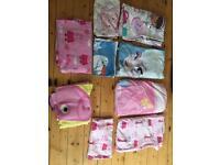 Bundle of girls duvets cover sets