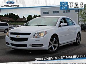 2009 Chevrolet Malibu **2LT*CUIR*CRUISE *A/C*SIÈGES CHAUFFANTS**