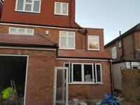 Brick cleaning and pointing