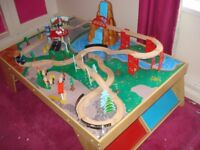 CHILDS PLAY TABLE WITH ACCESSORIES A BARGAIN £15