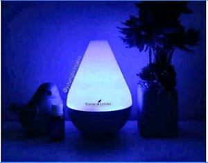 Brand new young living diffuser and oils
