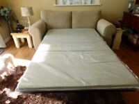 2 SEATER BED SETTEE FROM NEXT, ONLY 8 MONTHS OLD
