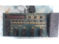 GFX8 zoom guitar effects processor.working perfectly