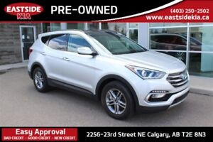 2017 Hyundai Santa Fe Sport 2.4L AWD SPORT LEATHER PANORAMIC SUN