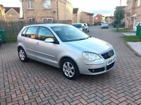 VOLKSWAGEN POLO 1.2 MATCH, MOT 10 MONTHS, LOW MILEAGE, SERVICE HISTORY, HPI CLAR