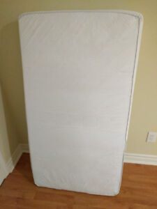 Safety 1st Heavenly Dreams White Crib Mattress - Great Condition