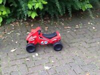 Children's little racing car