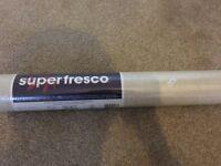10 Rolls of Superfresco beige wallpaper