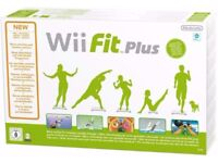New in Box - Wii Fit Plus with White Balance Board