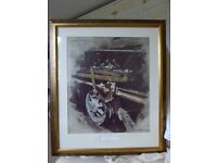 Large framed picture of Oil, Muck and Sunlight picture by David Shepherd