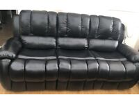 Leather Recliner Sofa's plus dining table