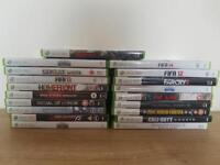 Xbox 360 games. Selling separately or as a set.