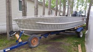 16 foot aluminum boat
