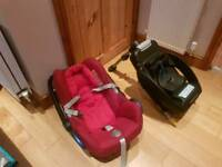 Maxi Cosi car seat and isofix
