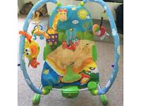 Baby rocker / bouncer chair