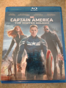 Captain America The winter soldier Blu Ray