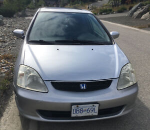2002 Honda Civic SIR Hatchback
