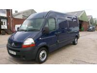 2007 57 RENAULT MASTER 2.5 LM35 LWB L/C 1D 100 BHP NO VAT TO ADD OLD PART X VAN