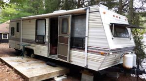 1990 gulfstream 28 ft trailer