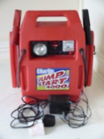 Portable vehicle jump start