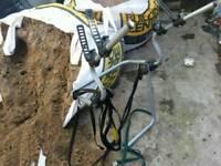 Spare wheel cycle carrier bike rack. Mountain bike road bike